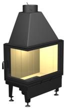 48946358 Wkład kominkowy powietrzny 14kW A10L[750+450]/450 DJ (lewa boczna szyba)