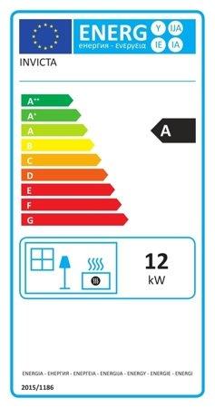 DOSTAWA GRATIS! 86829189 Piec wolnostojący Invicta 12kW Sedan L (kolor: emalia kość słoniowa) - spełnia anty-smogowy EkoProjekt