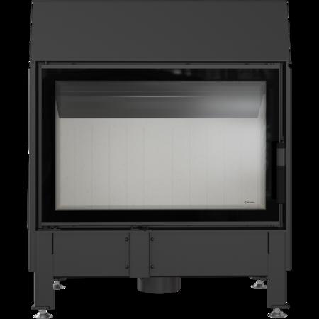 KONS Wkład kominkowy 11kW Zibi 12 Deco (szyba prosta) - spełnia anty-smogowy EkoProjekt 30065520