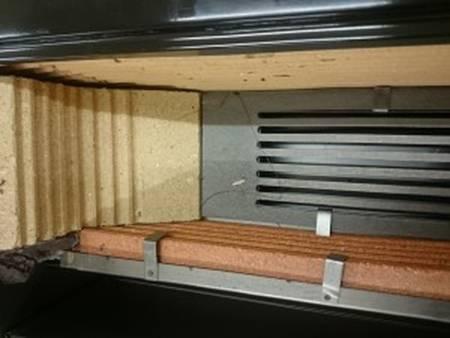 Kuchnia wolnostojąca, angielka na drewno 5kW, bez płaszcza wodnego (kolor: brązowy) 27776232