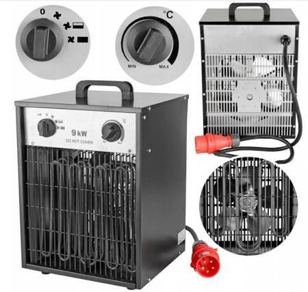 LETA Grzejnik dmuchawa nagrzewnica elektryczna (moc: 9000W) 21777643