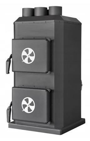 Piec nadmuchowy 14kW, blacha kotłowa 6 i 10mm (paliwo: drewno, miał węglowy, węgiel brunatny, węgiel kamienny, pellet) 95464405