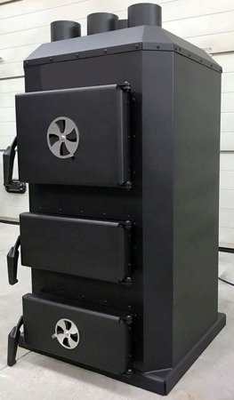Piec nadmuchowy 20kW, blacha kotłowa 6 i 10mm (paliwo: drewno, miał węglowy, węgiel brunatny, węgiel kamienny, pellet) 95464406