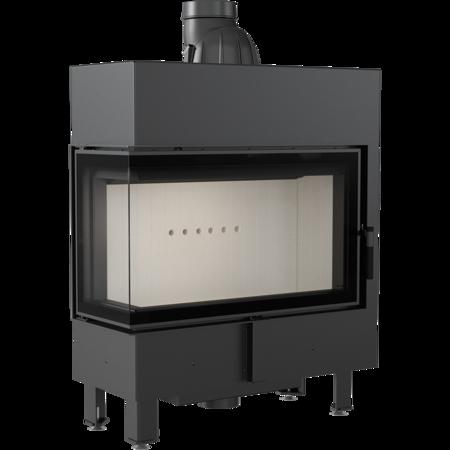 Wkład kominkowy 10kW Lucy Slim BS (lewa boczna szyba bez szprosa) - spełnia anty-smogowy EkoProjekt 30072662