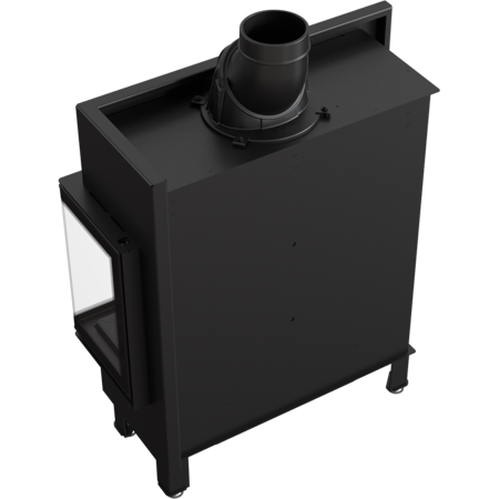 Wkład kominkowy 10kW Lucy Slim BS (prawa boczna szyba bez szprosa) - spełnia anty-smogowy EkoProjekt 30072663
