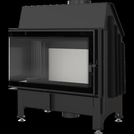 Wkład kominkowy 11kW Zibi 12 Deco (lewa boczna szyba) - spełnia anty-smogowy EkoProjekt 30065522