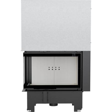 Wkład kominkowy 14kW VN 810/410 BS Gilotyna (lewa boczna szyba bez szprosa, drzwi podnoszone do góry) - spełnia anty-smogowy EkoProjekt 30072658
