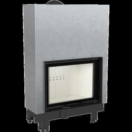 Wkład kominkowy 17kW MBA Gilotyna (szyba prosta, drzwi podnoszone do góry) - spełnia anty-smogowy EkoProjekt 30055013